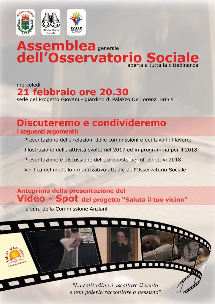 osservatorio sociale 21 02 2018
